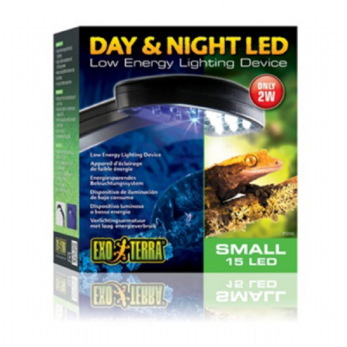 EXO TERRA DAY & NIGHT LED FIXTURE SML